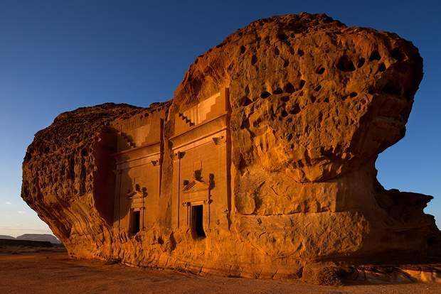 Гробниці Мадаїн Саліх Саудівська Аравія