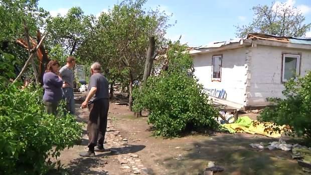 В будинку родини стихій знесла дах