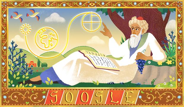 Омар Хайям, Google, дудл, історія, наука, культура, математика, техно