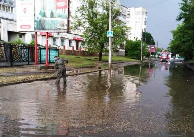 Негода дощ злива Кропивницький