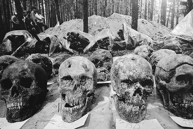 масове захоронення жертв політичних репресій 1937 СРСР історія Сталін