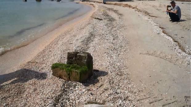 очистка пляжів