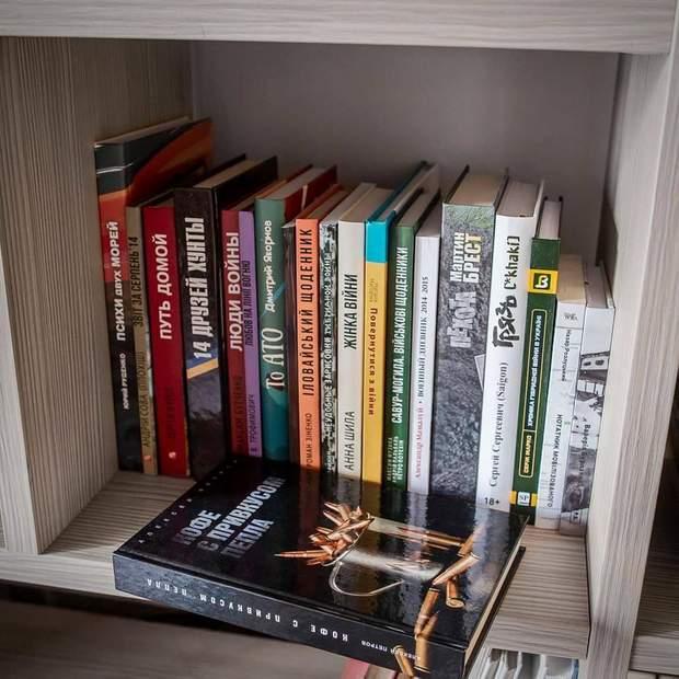 Ветеранський намет з книгами
