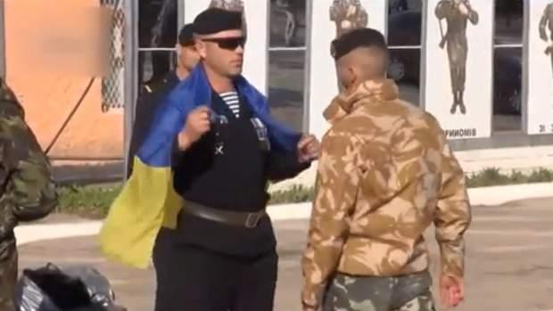 Українські морпіхи в окупованому Криму
