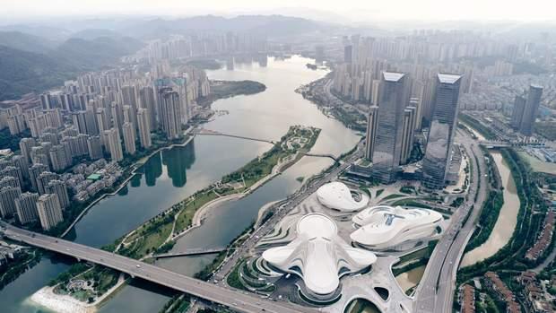 Заха Хадід Китай Чанша культурний центр