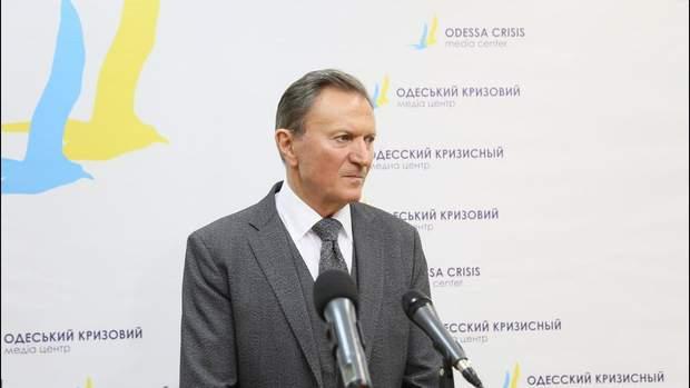 Колишній ректор Одеського медичного університету Валерій Запорожан