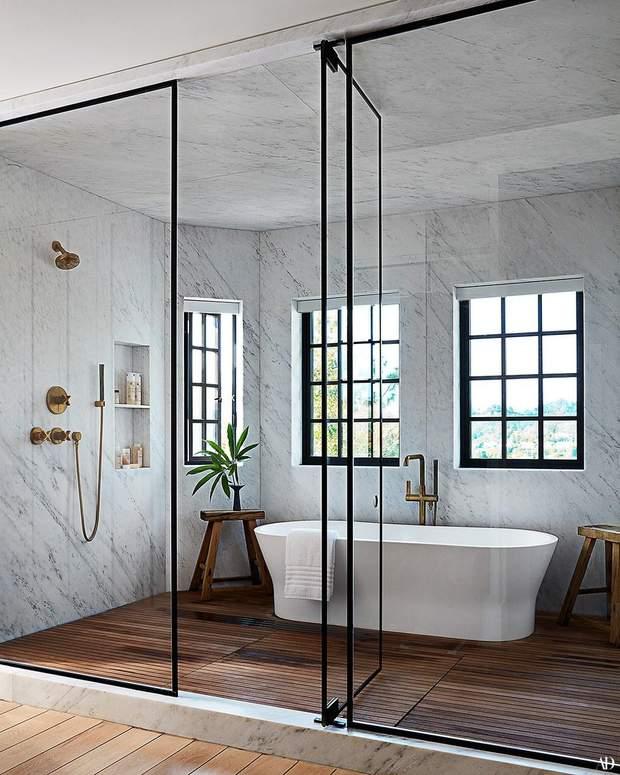 Джесіка Альба будинок маєток особняк ванна