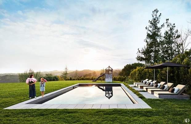 Джесіка Альба будинок маєток особняк басейн