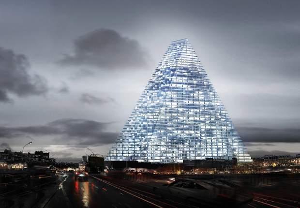 вежа піраміда Париж