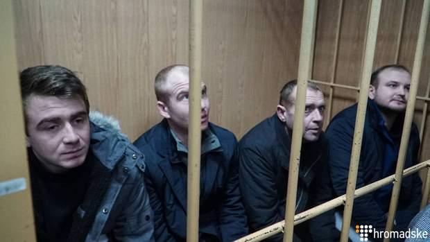 Богдан Небилиця російський полон полонені моряки Росія СІЗО