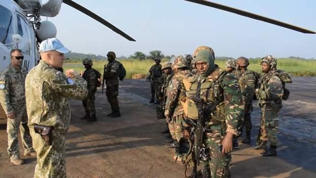 Українці миротворці в Конго