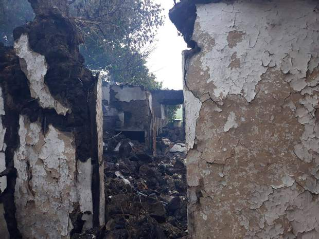 обстріл проросійські бойовики окупанти населений пункт обстріл Верхньоторецького