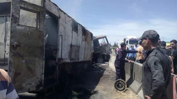 Машини швидкої допомоги та авто цивільного захисту негайно приїхали на місце