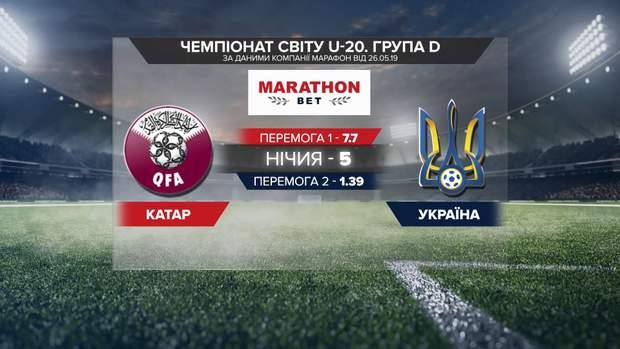Прогноз на матч Україна – Катар на U-20