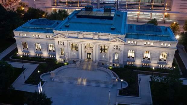 будівля бібліотека США Вашингтон Apple Store