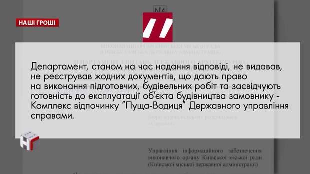 Департаменті з архітектурно-будівельного контролю Києва