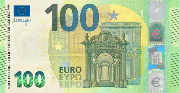 банкнота 100 євро