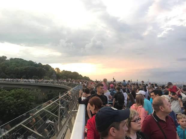 Міст Кличка Київ відкриття