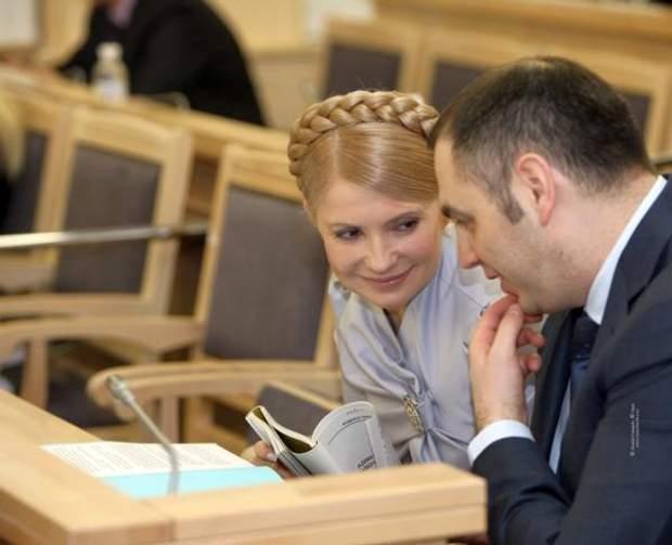 Андрій Портнов та Юлія Тимошенко