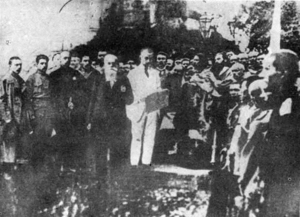 Грушевський на проголошенні 1 Універсалу Центральної Ради