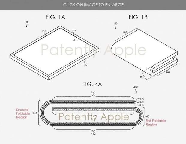 Патент гнучкого iPhone