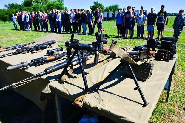 днр лнр бойовики окупанти діти зброя