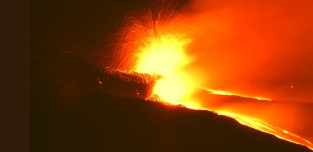 вулкан етна італія
