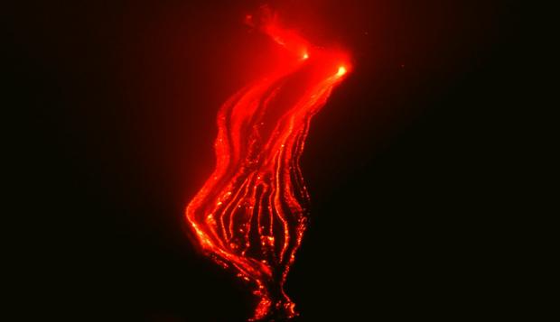 виверження вулкану етна