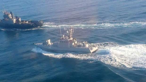 захоплення ураїнських моряків, інцидент у Керченській протоці
