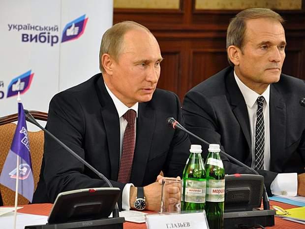 Путін та Медведчук