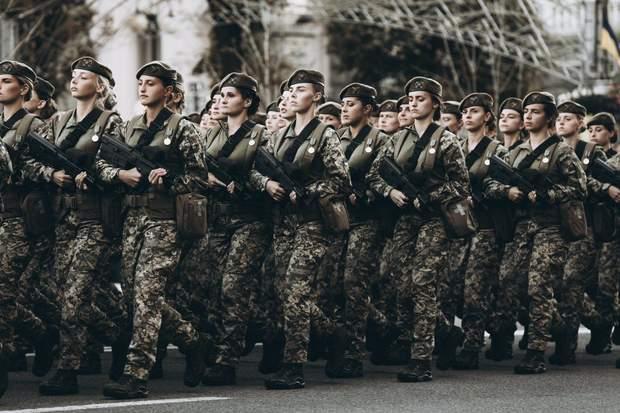 українські військові дівчата