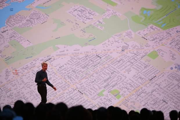 Apple Changes the Maps App Design