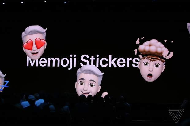 New stickers in iOS 13