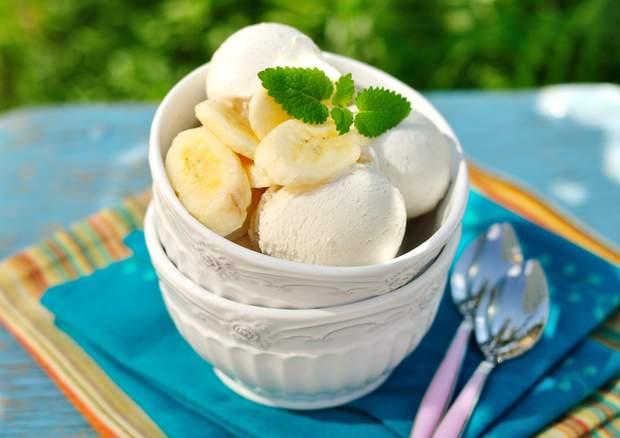 Як приготувати морозиво з бананом