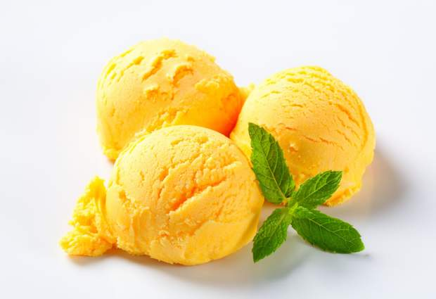 Як приготувати апельсинове морозиво