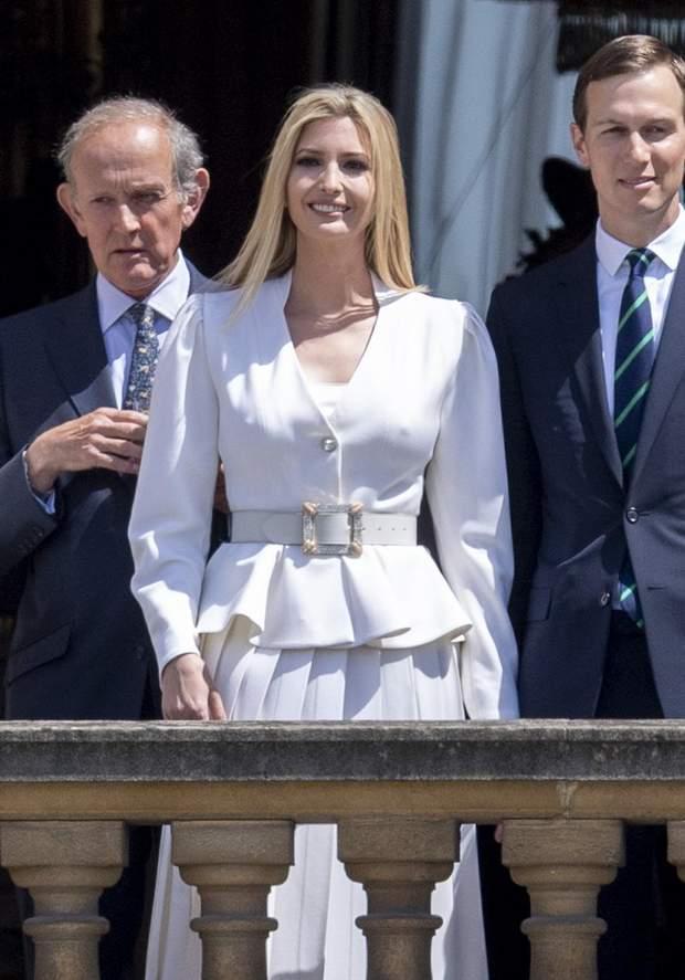 Іванка Трамп засвітила груди