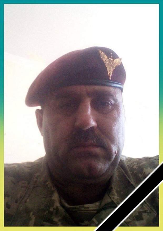 Військовий Володимир Коваль