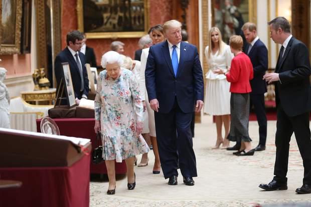 Принц Гаррі під час зустрічі з Дональдом Трампом уникав його