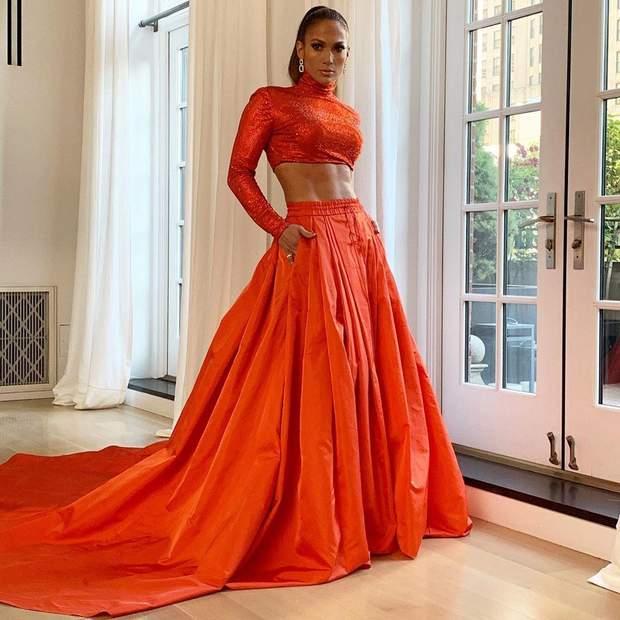 Дженніфер Лопес на CFDA Fashion Awards 2019