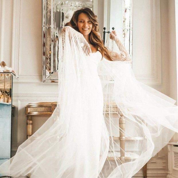 Регіна Тодоренко у весільній сукні