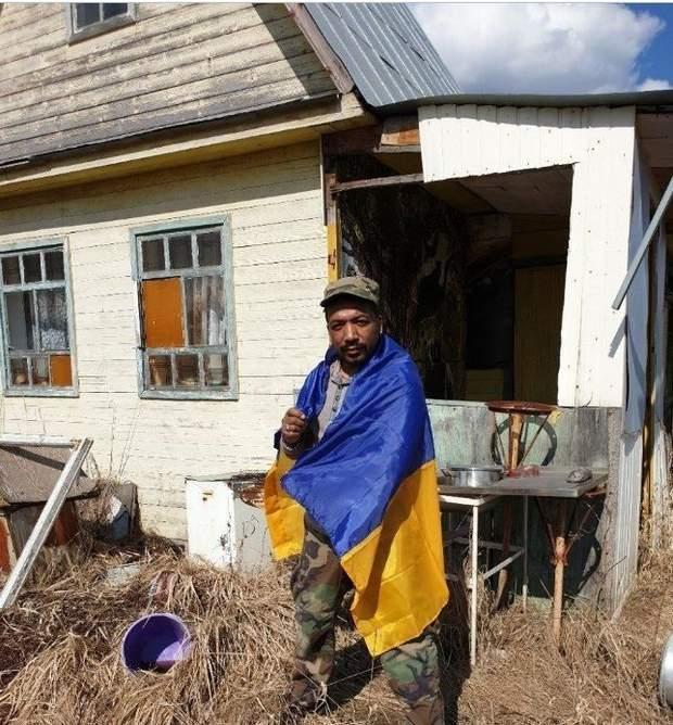 Ігор Хиряк український прапор