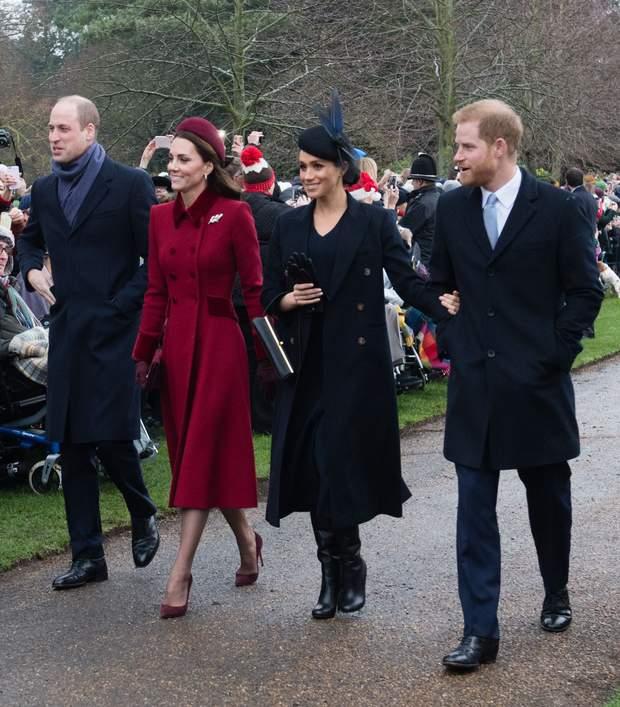 Герцоги Кембриджські і герцоги Сассекські