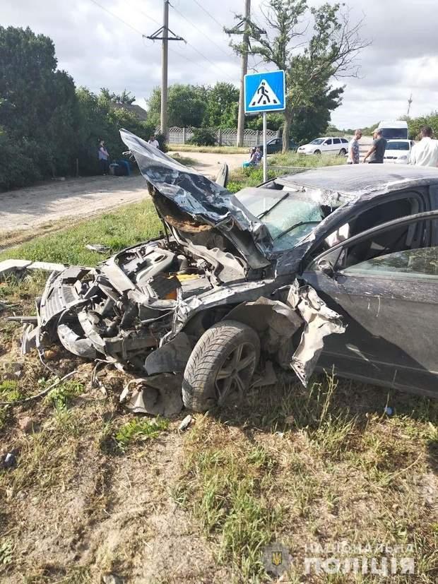 Аварія на Херсонщині