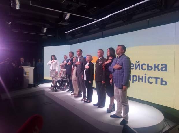 десятка Порошенко партія