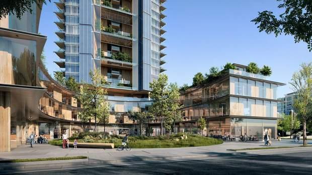 хмарочос дерево проект Канад Ванкувер