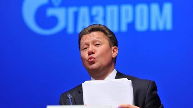 Олексій Міллер Газпром ціна на газ Україна поставки газу транзит