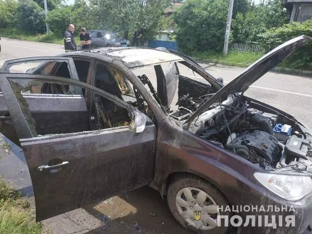На час вибуху, у салоні авто разом із водієм також перебував і 3 річний хлопчик