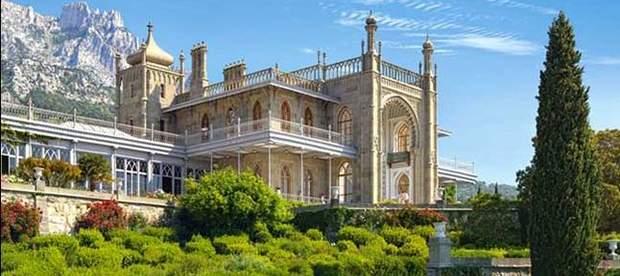 Воронцовський палац Алупка