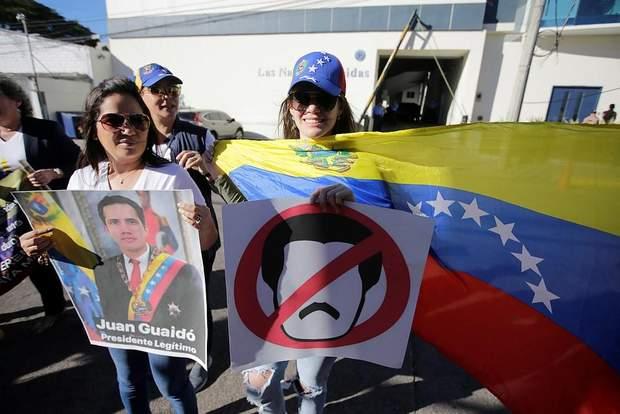 Венесуэлы протесты