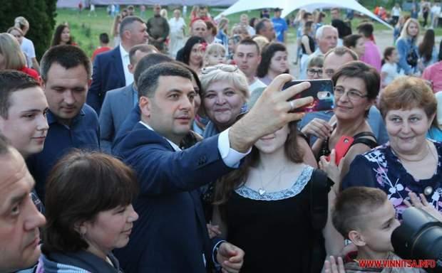 Гройсман теж відвідав оперний фестиваль на Вінниччині